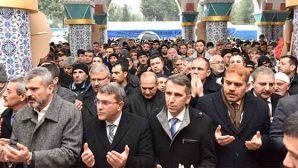 Tüm Siyasiler Şehit Cenazesinde