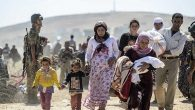 Sınırda onbinlerce Suriyeli var!