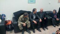 Ertem, Yaralı Askerleri Ziyaret Etti