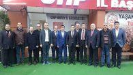 CHP'ye tebrik ziyaretçileri