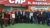 CHP İl Yönetiminde görev dağılımı