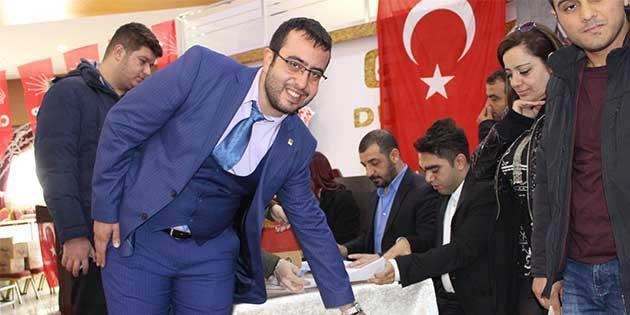 CHP İl Gençlik Kolları'nda Yeni Başkan