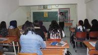 Kültür'de sınav heyecanı