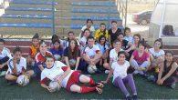 Çekmece sahasında kız futbol grup maçları