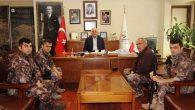 Özel Harekat'tan Başkan Dingil'e ziyaret