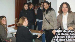 CHP'de kadınların siyasete ilgisi yüksek düzeyde