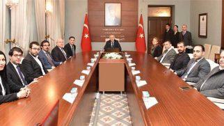 AKP ve CHP İl Yöneticileri Valilik ziyaretinde