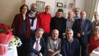 Şair Yalkın'aİstanbul'daki evinde ziyaret