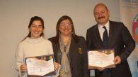 Baba-kız aynı kursta: birlikte sertifika aldılar