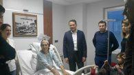 Ertem, Hasta Ziyaretlerinde