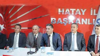 CHP-MSB Komisyon Üyeleri dün Hatay'daydı