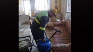 Defne'de  ev temizliği