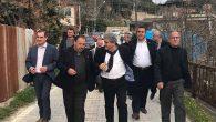 Başkan Yaman'dan mahalle ziyaretleri