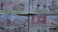 Çocuklardan Mehmetçiğe moral resimleri