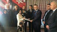 Afrin Şehidi Kırıkhanlı TEDAŞ çalışanı ailesine