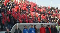 Hatayspor tribünlerinden: Mehmetçiğe  selam