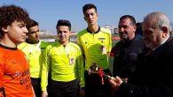 U-16'da Şampiyonlar: Karaağaç ve Samandağ