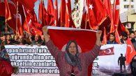 Yayladağı'nda Mehmetçiğe destek yürüyüşü