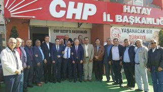 Şoför temsilcileri ziyareti CHP'ye