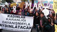Halaylı, şarkılı 8 Mart kutlaması