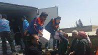 Hatay AFAD'dan Suriye'ye insani yardım