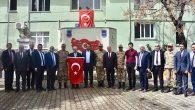 Afrin harekatına destek, Türkiye'nin en uç noktasından
