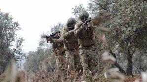 Afrin'de etkisiz hale getirilen  Terörist sayısı:2516…
