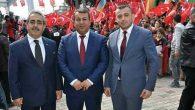 3 parti il başkanından  örnek birliktelik