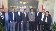 CHP Heyeti ziyareti MHP'ye