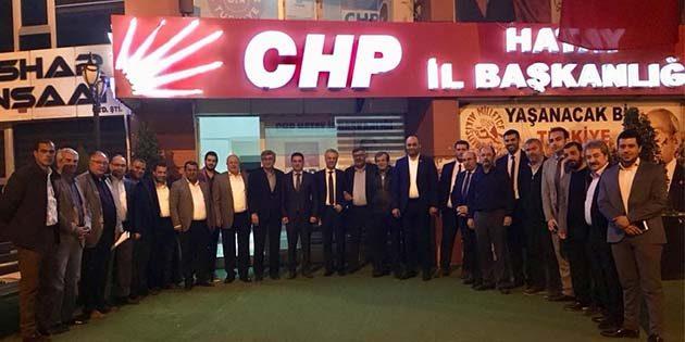 CHP'de İl ve 15 ilçe başkanı bir araya geldi