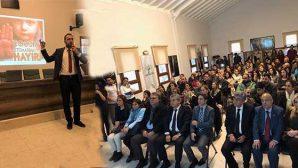 Defne Belediyesi etkinliği panel
