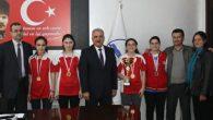 Şampiyonlar Mithat Nehir'i ziyaret etti