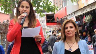 Samandağ'da Kadınlar Günü Kutlaması