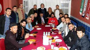 Hatayspor Futbolcuları, Songül'ün misafiri…