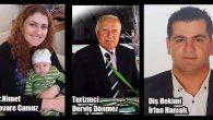 Samandağ'da aynı gün 3 tanınmış kişi öldü
