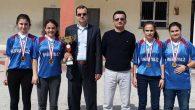 Ortaokullar masa tenisi kızlar şampiyonu