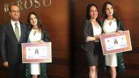Uğur Karadoğan'ın kızı Avukat oldu