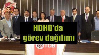HDHO'da görev dağılımı
