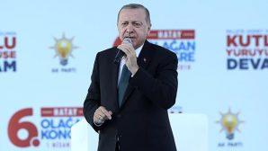 Cumhurbaşkanı Erdoğan, dün Antakya'da konuştu:
