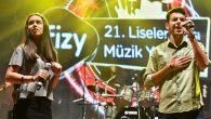 fizy 21. liseler arası müzik yarışması sahne rekoru