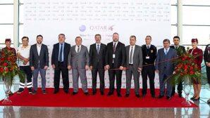Qatar Airways ilk defa  Hatay'a indi