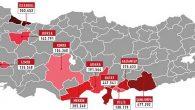 Hatay'dan Kilis'e, Mardin'den İstanbul'a