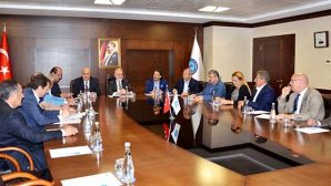 Rus ve Arap işadamları işbirliği için İTSO'da