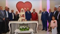 Nazmi Bozoğlan oğlunu evlendirdi