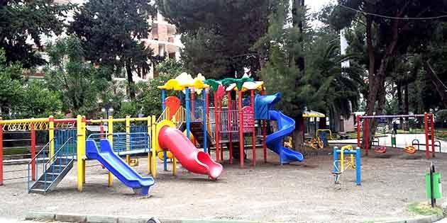 Çocuk oyun alanlarında yasaklandı!