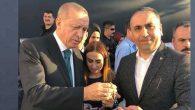 Erdoğan'ın Tespihi  MHP İl Başkanı'na