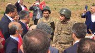CHP'li Yılmaz sınıra gitti