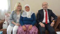 Oğlu 25 Yıl Önce Şehit Düşen Anneye Ziyaret