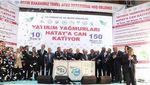 Bakan Eroğlu, Reyhanlı Barajı için tarih verdi: