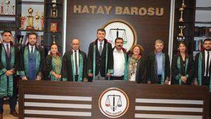 Hatay Barosu'ndan 19 Mayıs Mesajı: